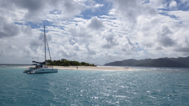 Sandy Spit british virgin islands