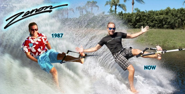 professional water skier