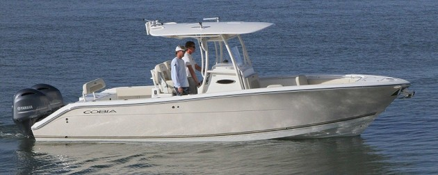 A picture of a Cobia 277 CC.