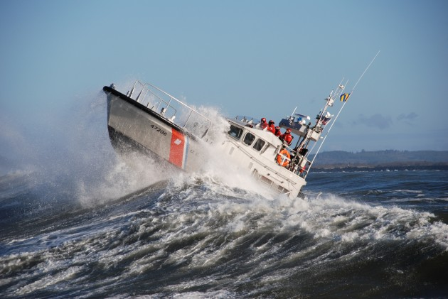 There when you need them–the United States Coast Guard.