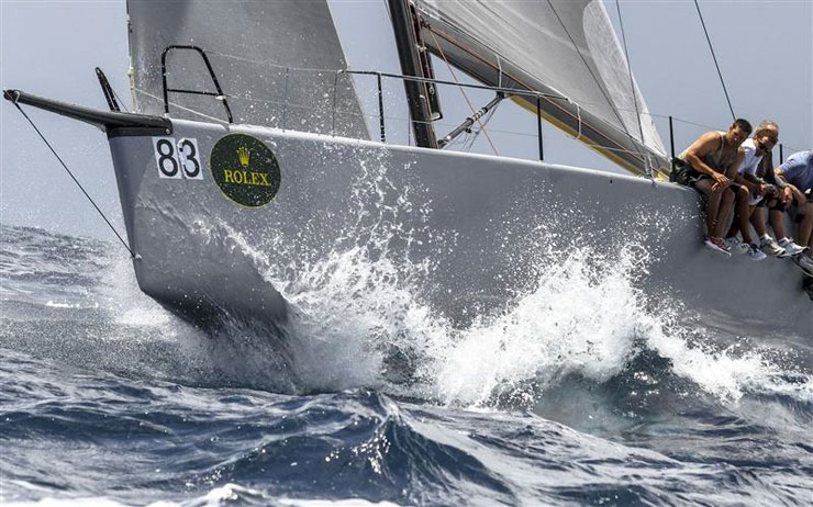 "The sport of yacht racing is now called ""sailing"" on this side of the Atlantic."