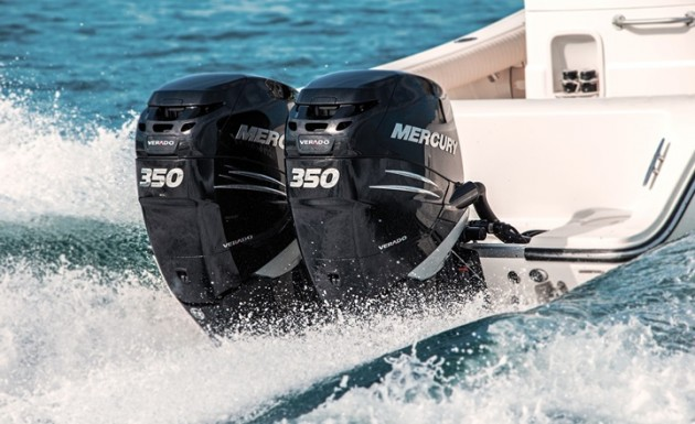 Mercury re-engineered the Verado 350 for a more mainstream center-console buying audience.