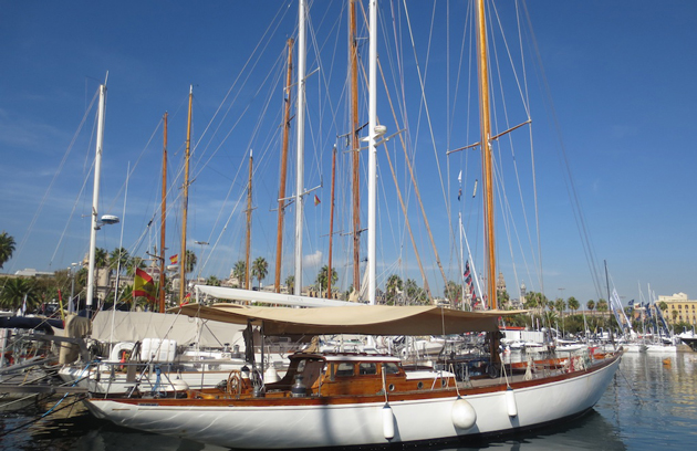 Some yachts achieve their status effortlessly, through a combination of size, looks, and attitude.