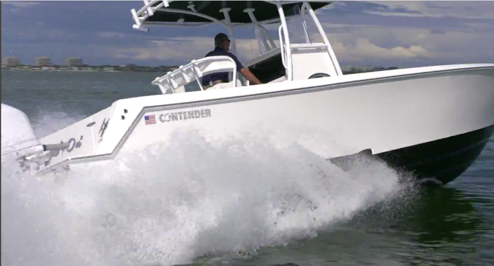 Contender 30 ST: Video Boat Review