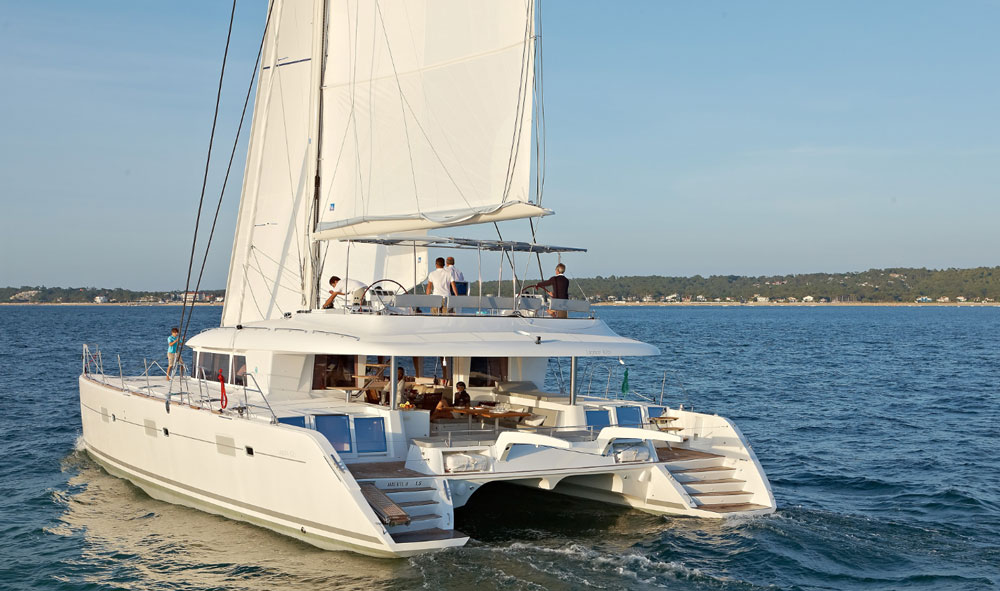 Lagoon 620: A Multihull with Multiple Layouts