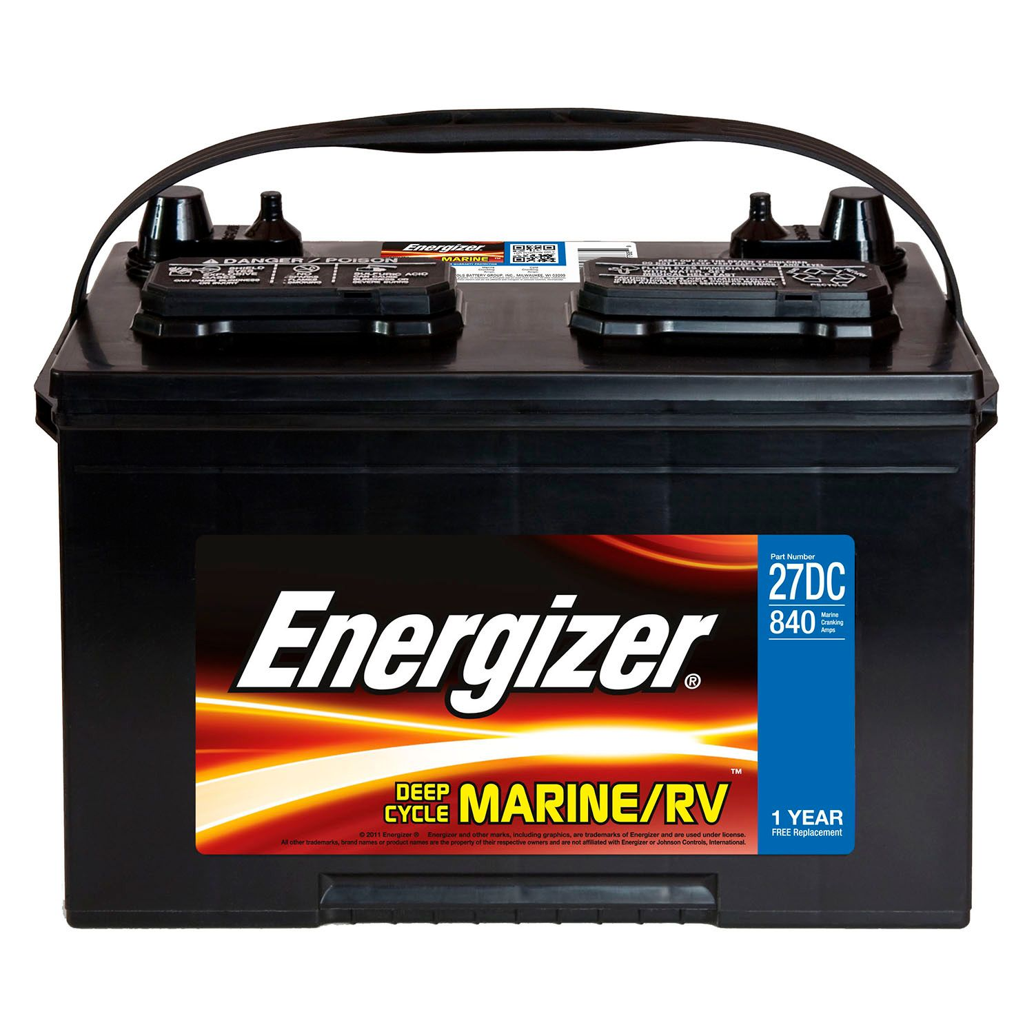 If possible, batteries should be removed from your boat and stored at home where they can take on a trickle charge all winter long.