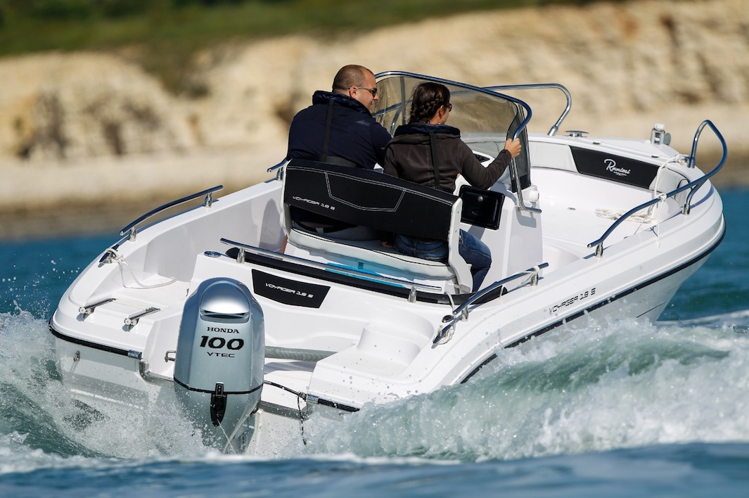 The outboard expert new honda bf100 outboard is on the for Best outboard motor warranty