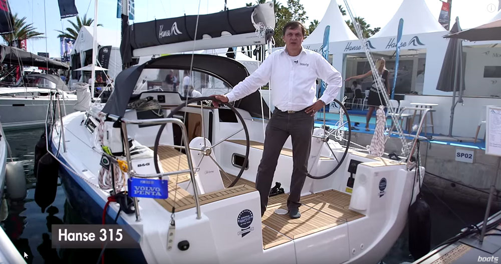 Hanse 315 Video: First Look