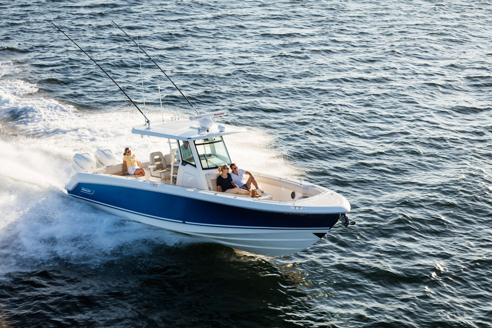 Boston Whaler 330 Outrage: Video Boat Review