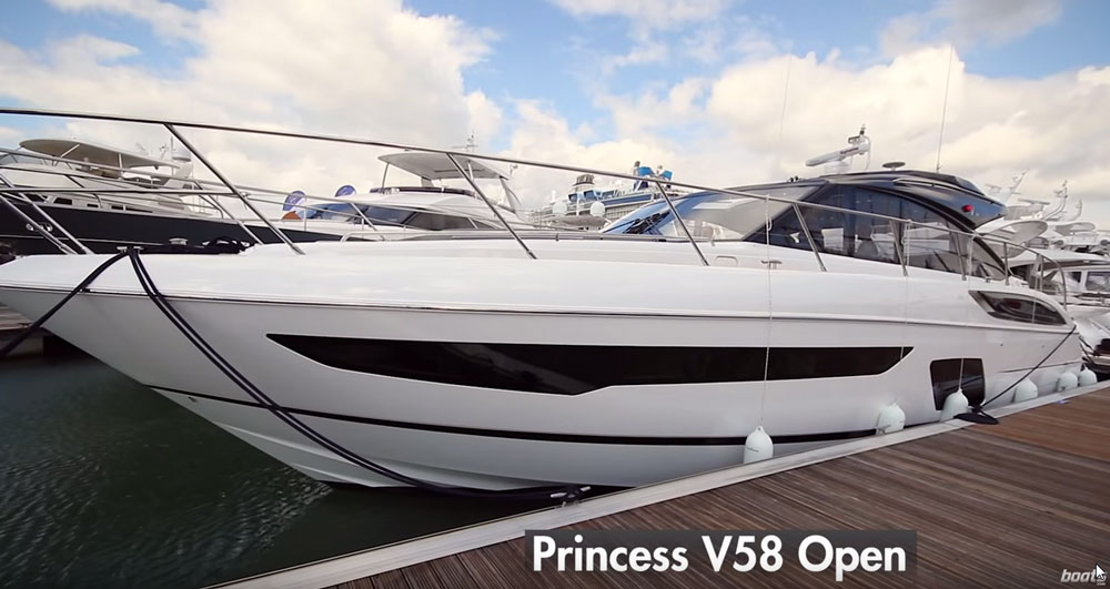 Princess V58 Open Video: First Look