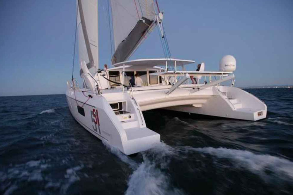 Outremer 51: A Sailing Catamaran for Speed and Distance - boats com