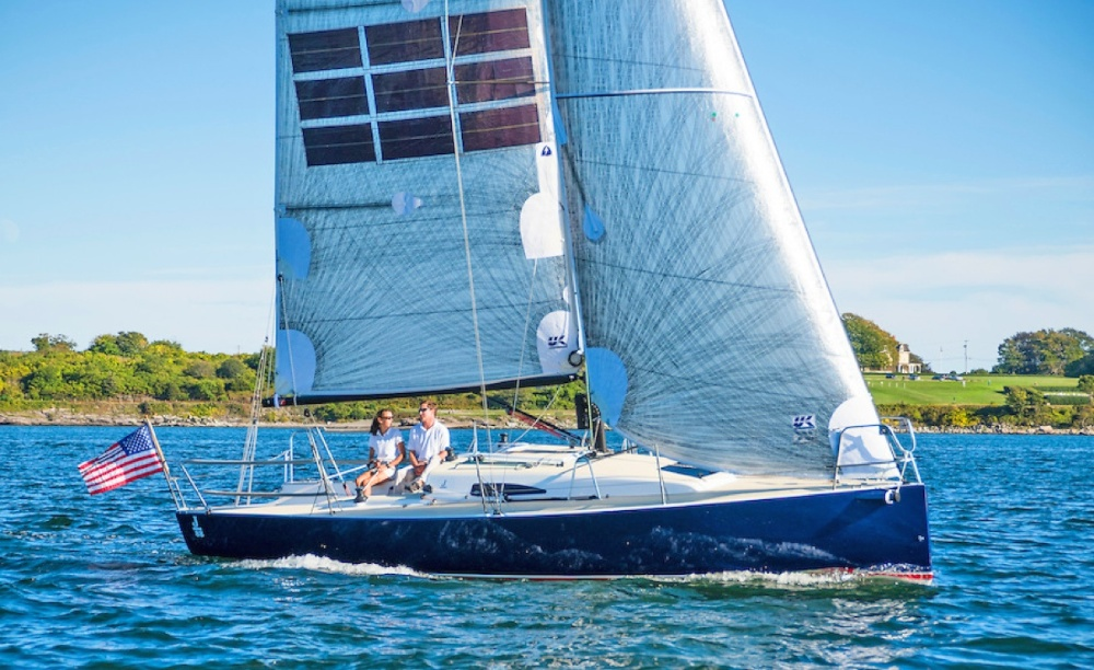 J/88 Oceanvolt: Powered by Wind, Sun and Water