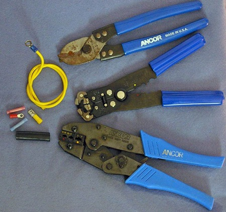 12 volt basics for boaters boats com good quality tools for stripping wire and crimping connections will make a