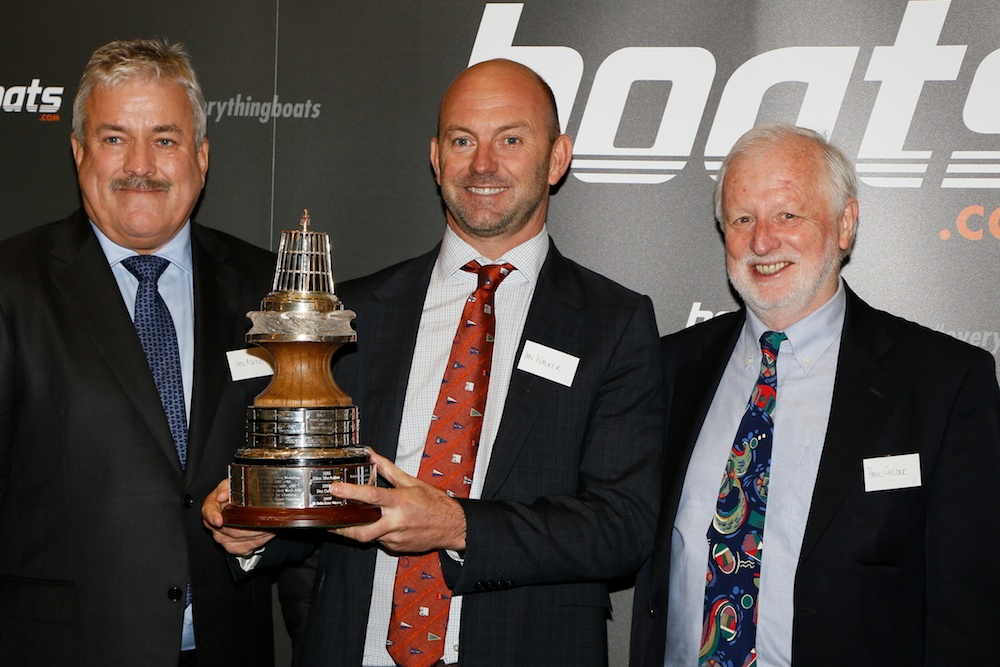 Ian Walker, winner of the  boats.com YJA Yachtsman of the Year Award 2015