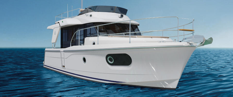 Beneteau Swift Trawler 30: First Look Video