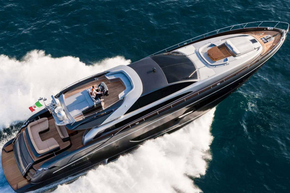 Riva 88: Domino Flybridge or Florida Open, You Make the Choice