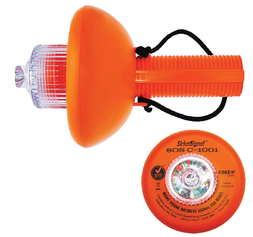 The Sirius Electronic SOS Distress Light