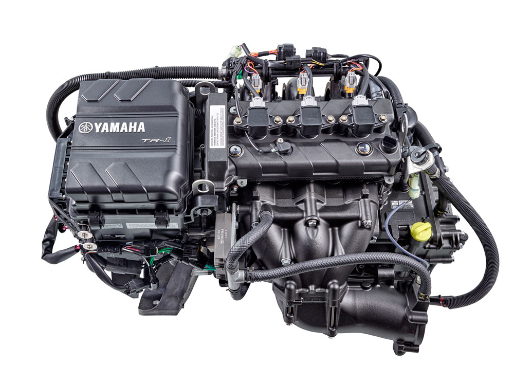Twin Liter High Output Yamaha Marine Engine