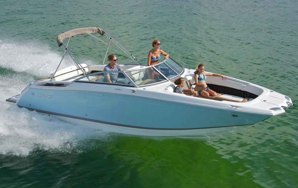 It may look a little different than the average bowrider, but that's part of what makes the Cobalt 26SD special.