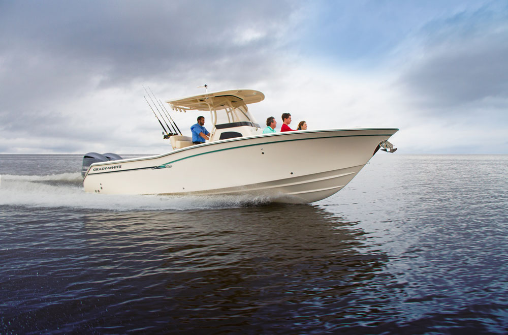 Adding the Canyon 271 FS to the Grady-White fleet was a smart move, bringing a wider range of anglers into the fold.