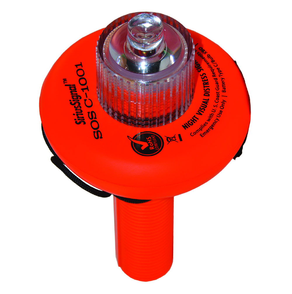 We like gear that gives us a safety boost, like the Weems & Plath SOS distress light.