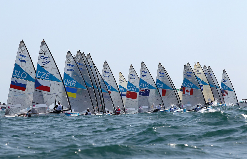 The Finn class is the oldest still competing at the Olympic Games. Photo Tom Gruitt/Creating Waves.
