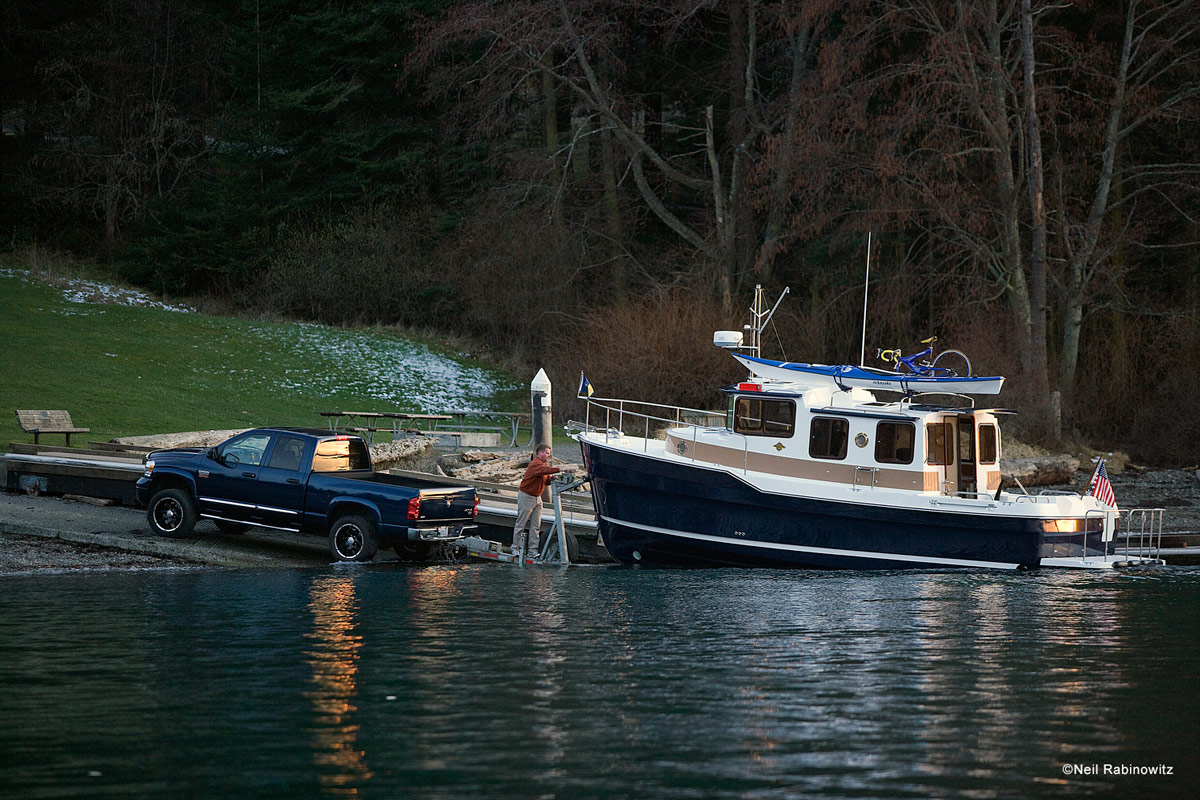 Owning a boat is one thing, but trailering it is an entirely different story. No worries—our Trailering Guide will help you cover all the bases. Photo by Neil Rabinowitz.