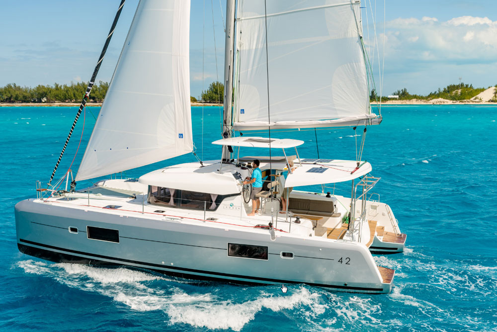 Lagoon 42: Sailing on Open Waters - boats com