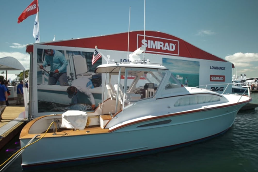 Classic Rybovich with Simrad NSS: First Look Video
