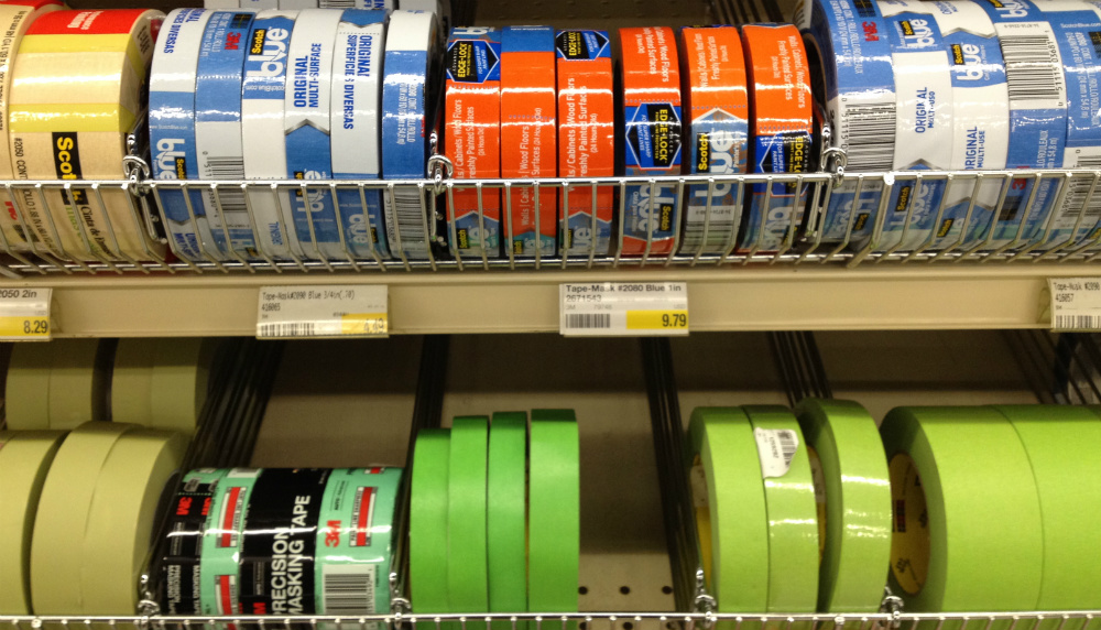 The choice of tapes alone can be bewildering -- but this is not a time to pinch pennies with cheap brown masking tape.