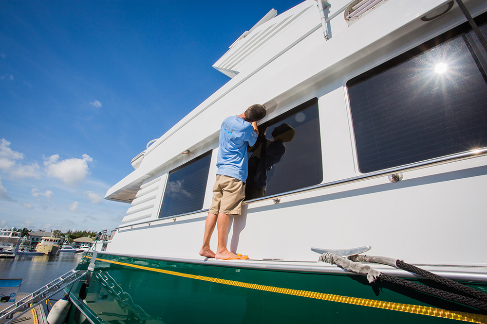 Owners looking to save on their services might take advantage of the charter income program. Photo courtesy Florida Yacht Management.