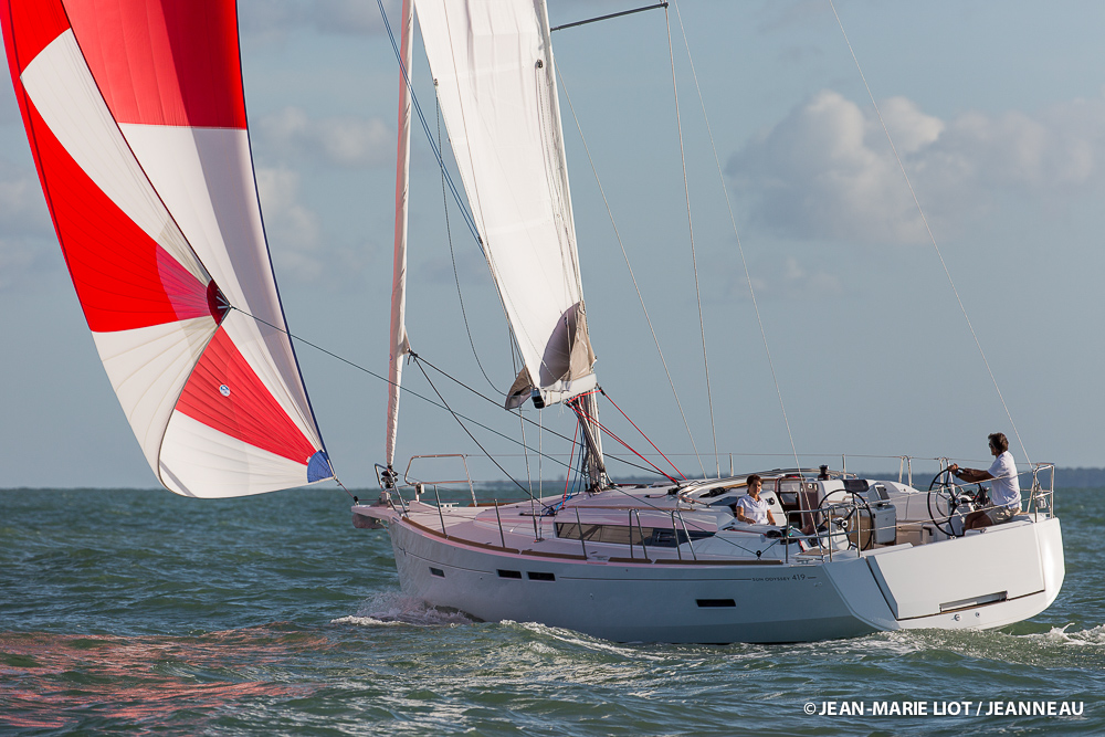 Jeanneau Sun Odyssey 419, Fast and Comfortable