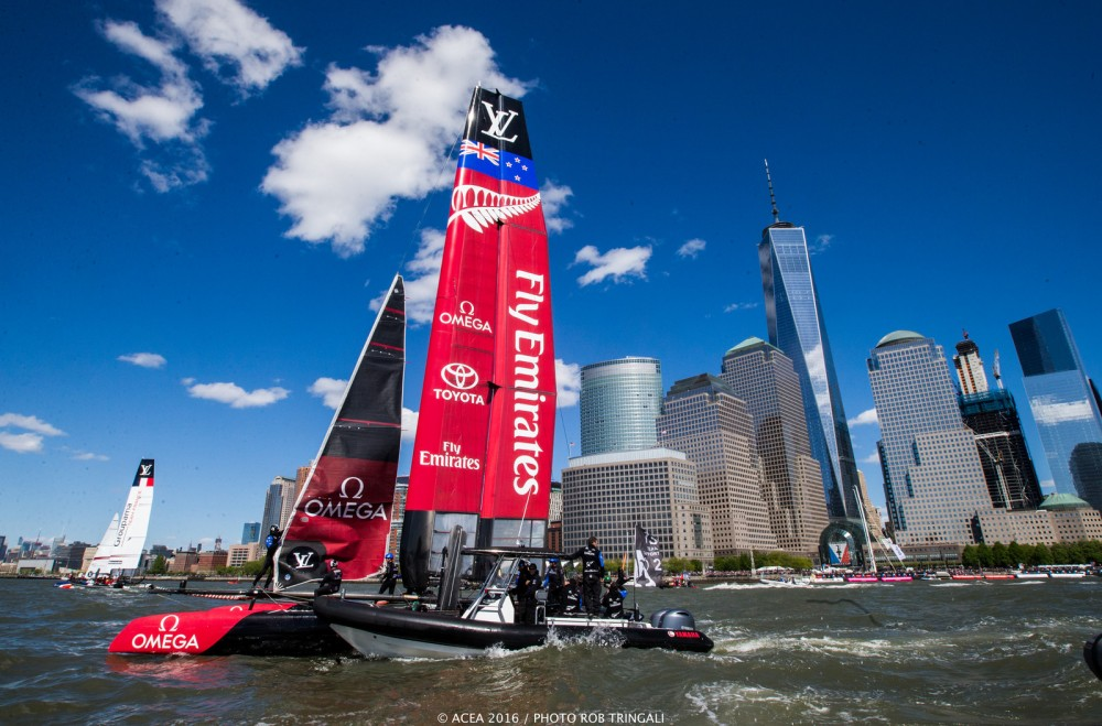 Photo by Rob Tringali courtesy America's Cup Event Authority.