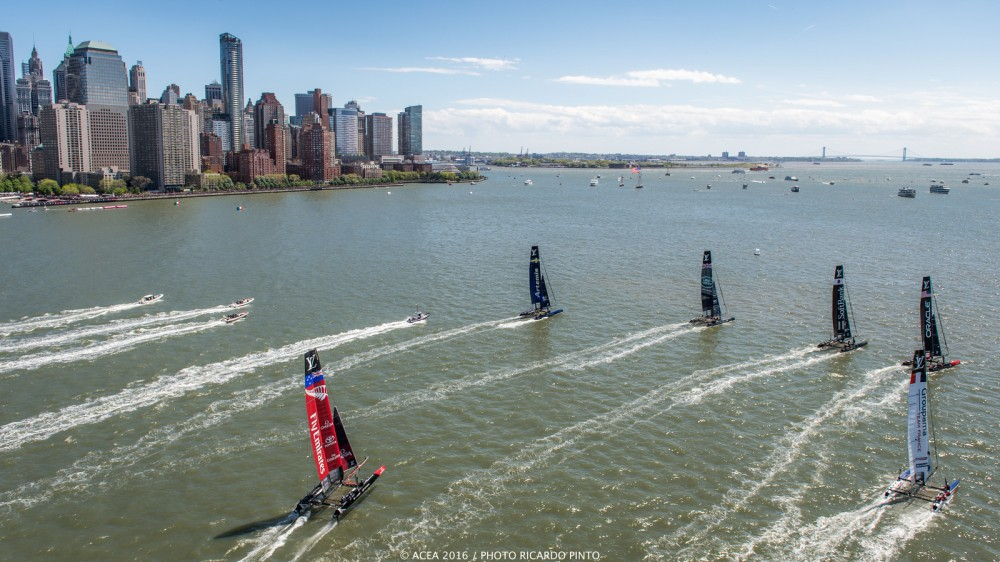 Photo by Ricardo Pinto courtesy America's Cup Event Authority.
