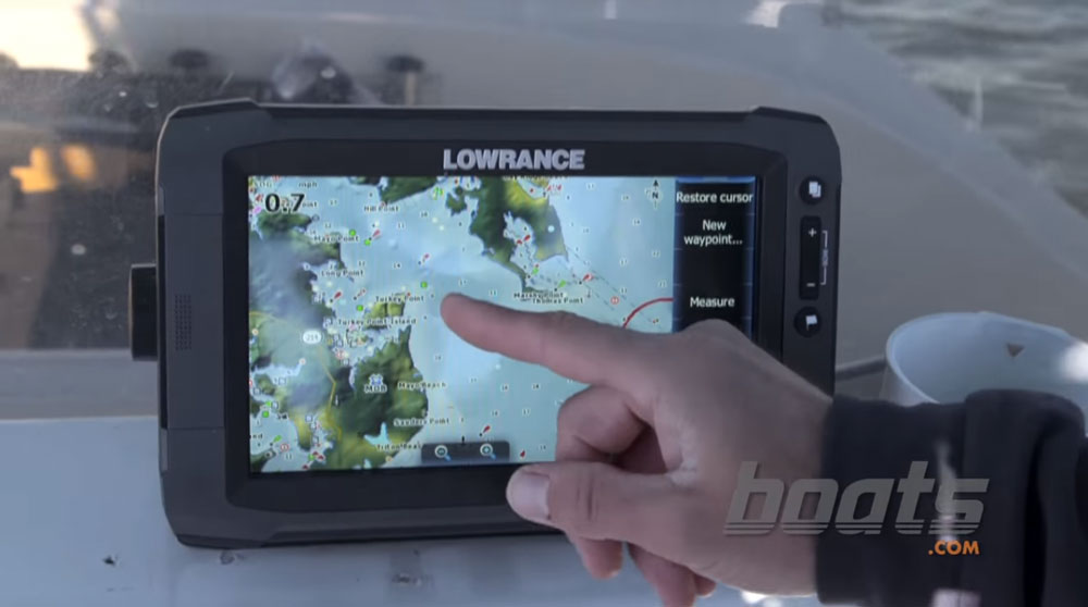 Virtually all of your navigational needs can be fulfilled with a chartplotter at the helm.