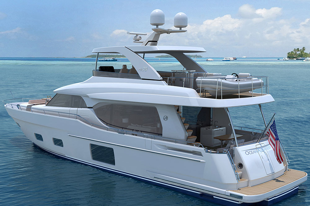 Ocean Alexander 70e: First Look Video