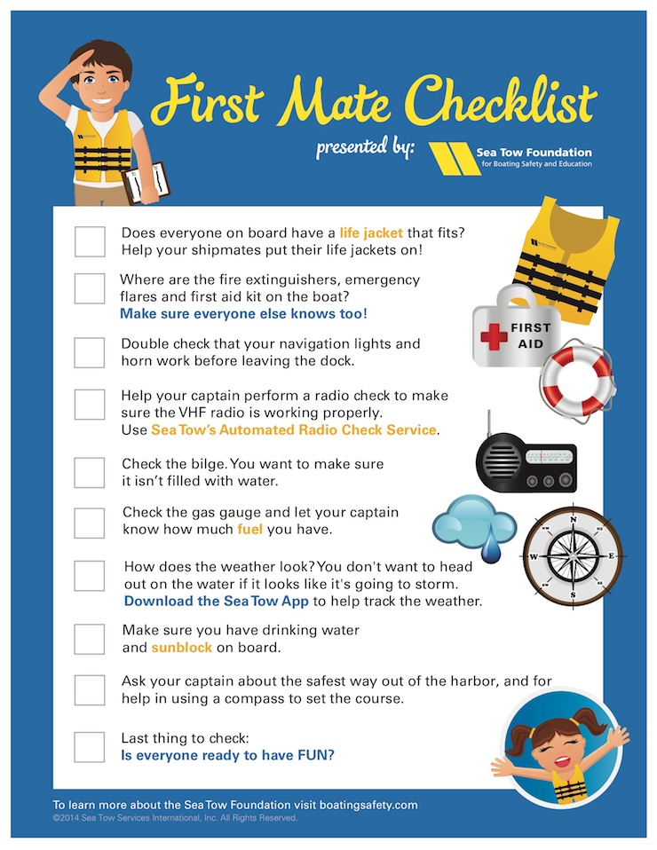 Download and print your own copy of this useful checklist.