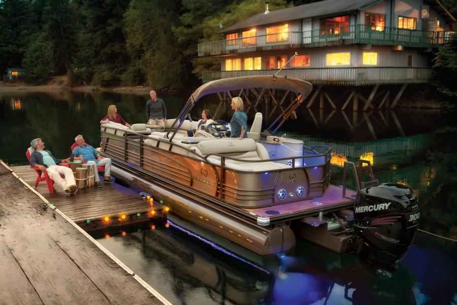 How to Handle a Pontoon Boat - boats com