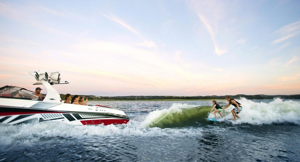 Photo courtesy of Tige Boats.