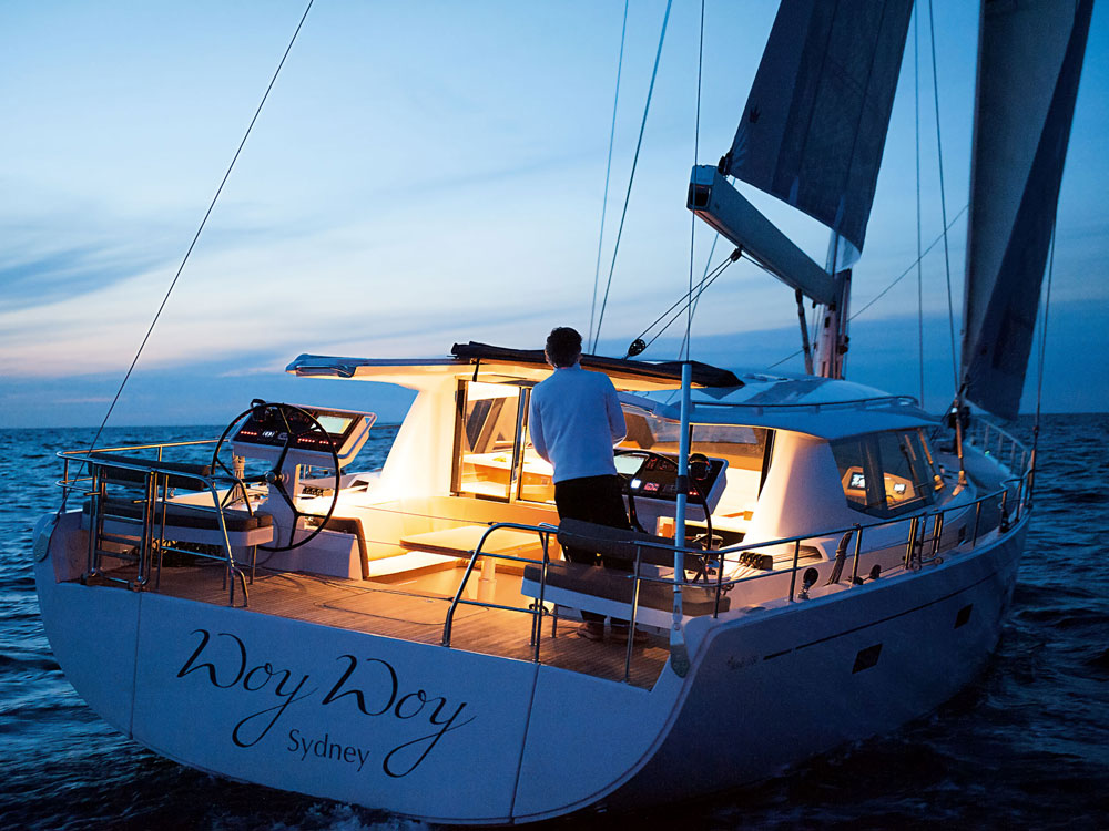The Moody 54 DS is a luxury cruiser that will appeal to those who still want the romance of sailing to distant shores, but have graduated to needing the comfort and amenities of a motoryacht.