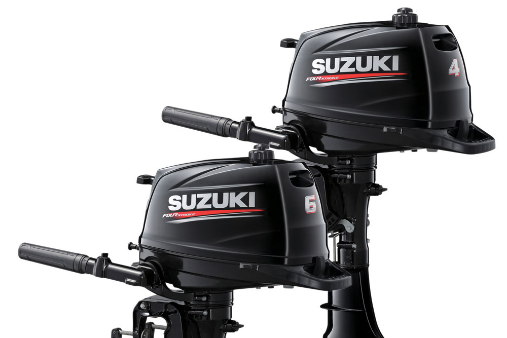 2016 Suzuki DF6A Outboard: Light-weight Champ