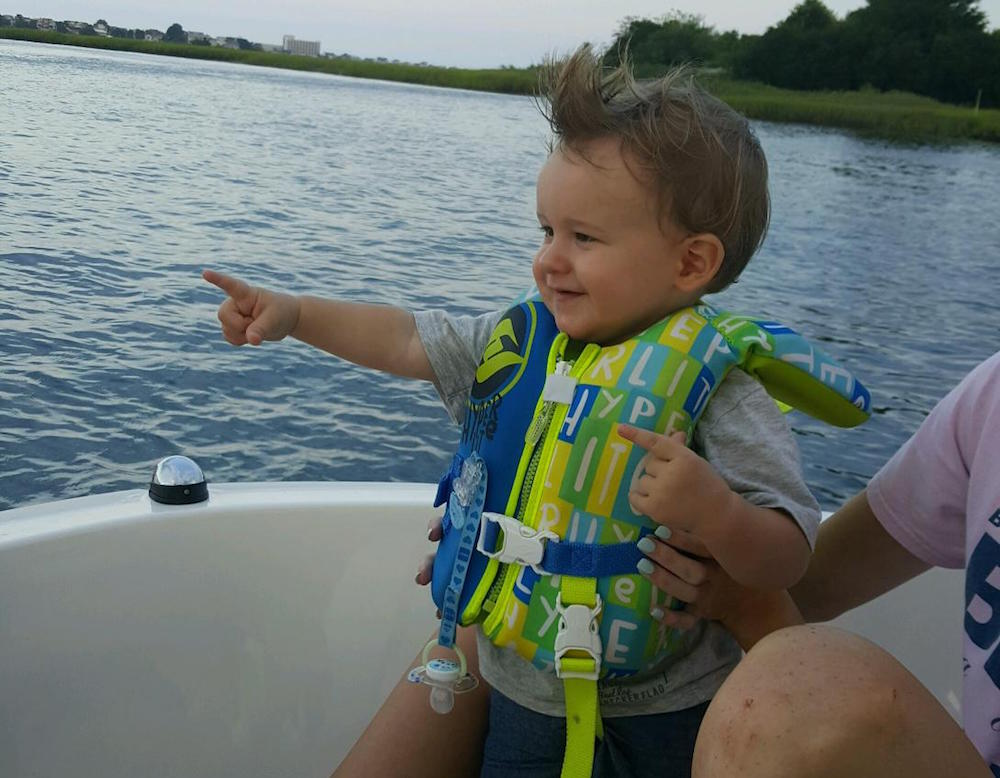 Infant lifejackets are one of the most important pieces of safety equipment when boating with a baby. The U.S. Coast Guard provides helpful guidelines for selection and sizing.