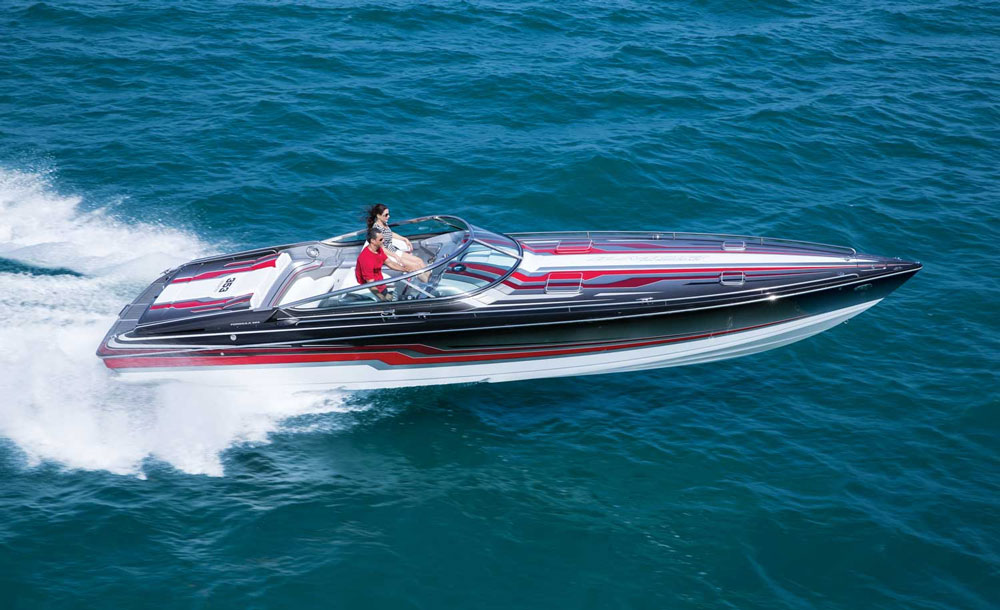 When you're ready for neck-snapping acceleration and eye-watering top-end, it's time to get a speed boat.