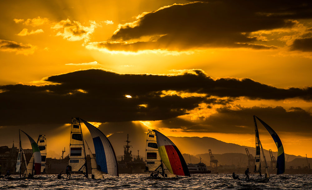 sailing at Rio2016 Olympic Games