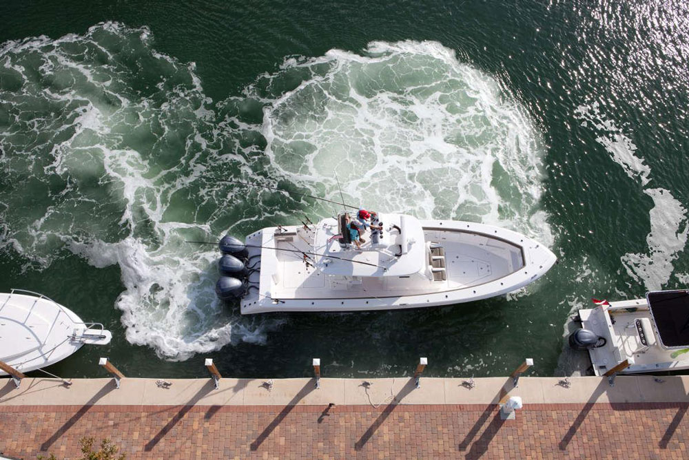 Can you maneuver your boat into a super-tight slip? Can you walk it sideways, or spin it in its own length? Read on, to learn how to solve these docking dilemmas.
