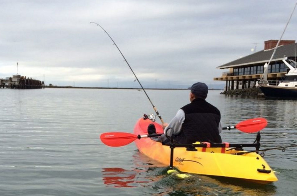 A kayak with twin screws? You bet, thanks to Dual Jet.