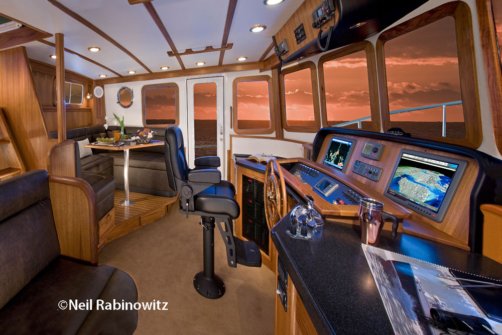 A full suite of marine electronics makes navigation faster, easier, and far more accurate.