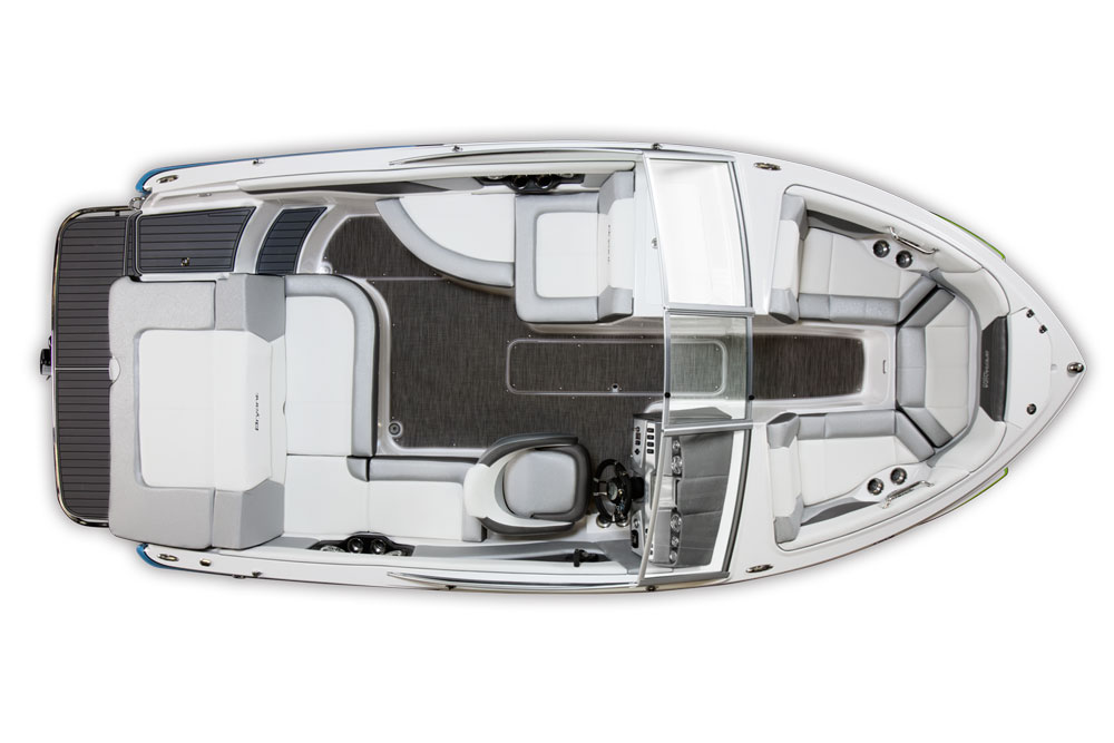 The use of deck space in the Speranza isn't just creative—it's also smart.