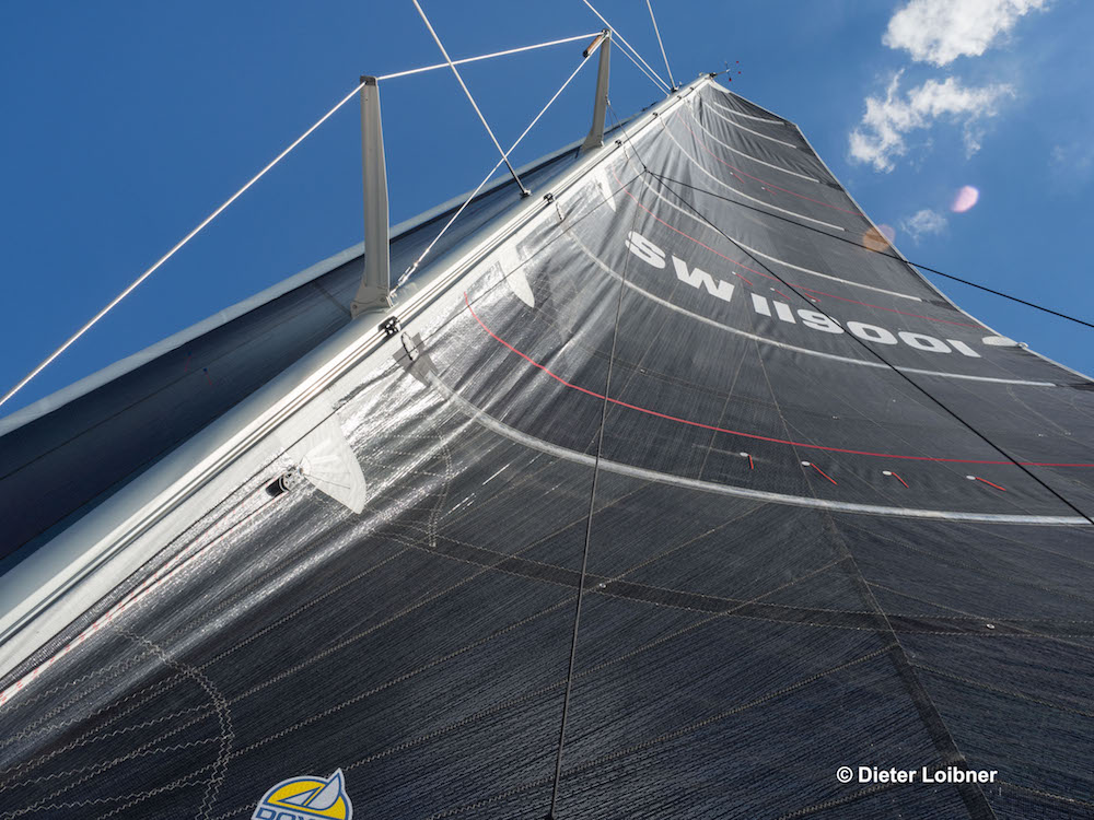 The mainsail