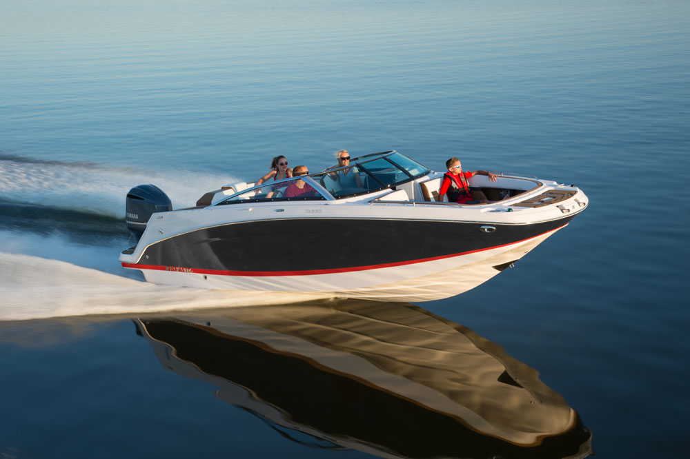 …or an outboard, the Four Winns HD220 will fit the bill.